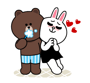 Cute Bunny Sticker messages sticker-0