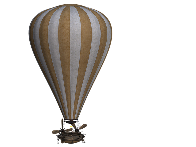 Vintage Hot Air Balloons messages sticker-4