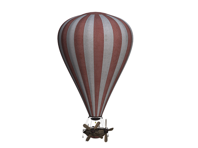 Vintage Hot Air Balloons messages sticker-5