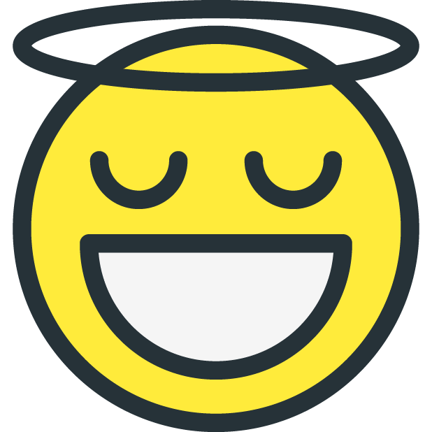 Smiley - Funny Faces messages sticker-6