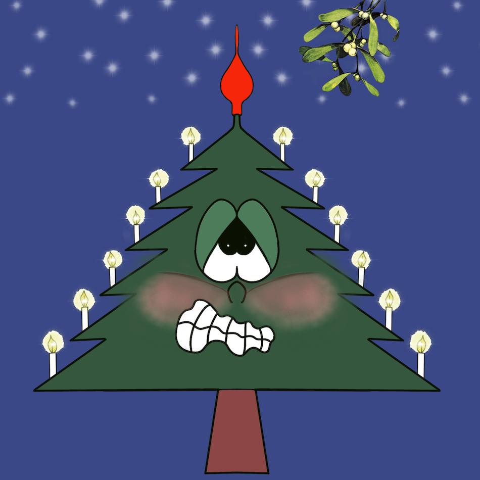 Christmas Tree Emotion sticker messages sticker-7