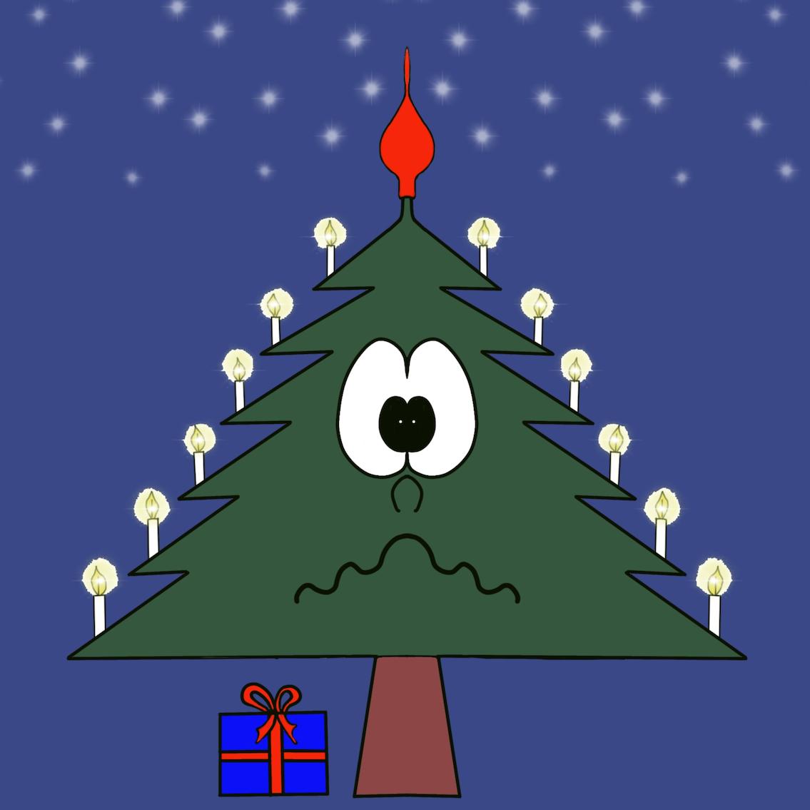 Christmas Tree Emotion sticker messages sticker-8
