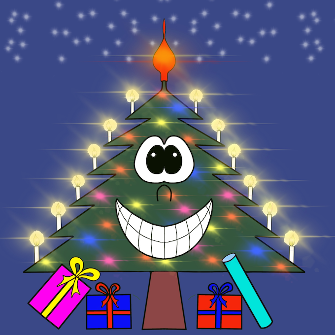 Christmas Tree Emotion sticker messages sticker-3