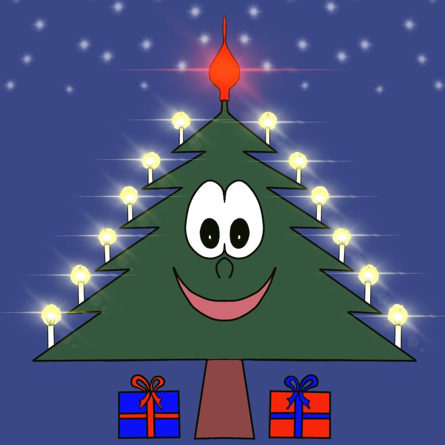 Christmas Tree Emotion sticker messages sticker-1
