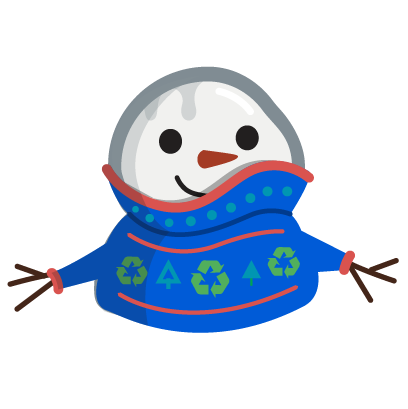 Cool Effect Snowman Stickers messages sticker-5