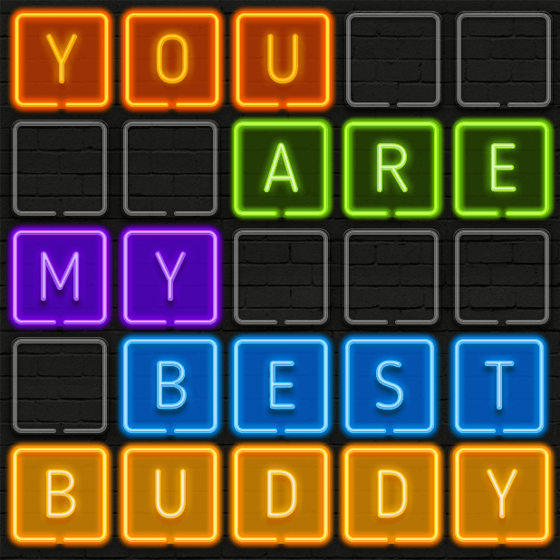 Neon texts - Say IT! by neon messages sticker-5