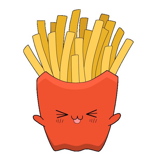 Cute Foods messages sticker-5
