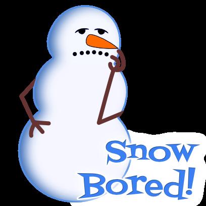 Snow Much Pun Stickers messages sticker-10