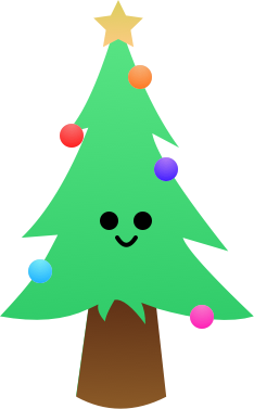 Christmas Forest Stickers messages sticker-0