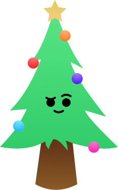 Christmas Forest Stickers messages sticker-5