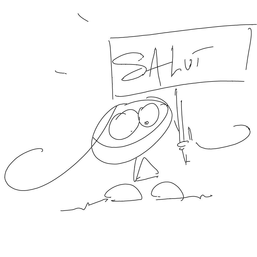 Barbouille messages sticker-3