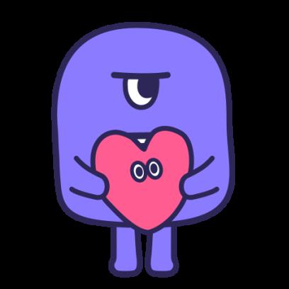 SmoothyMon Sticker Basic messages sticker-7