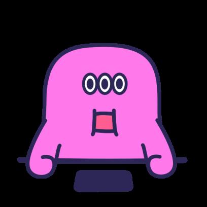SmoothyMon Sticker Basic messages sticker-6