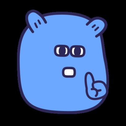 SmoothyMon Sticker Basic messages sticker-11