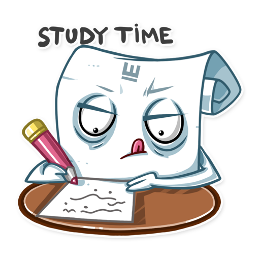 Students Essay Sticker Pack messages sticker-7