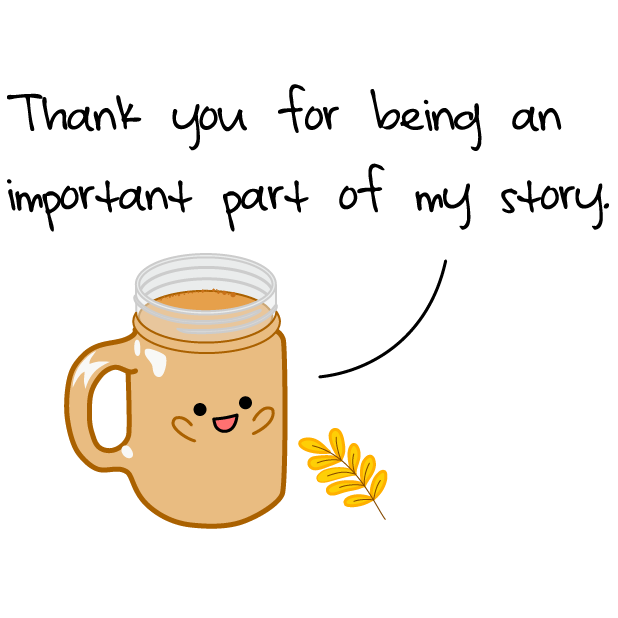 Cute Thanksgiving messages sticker-4