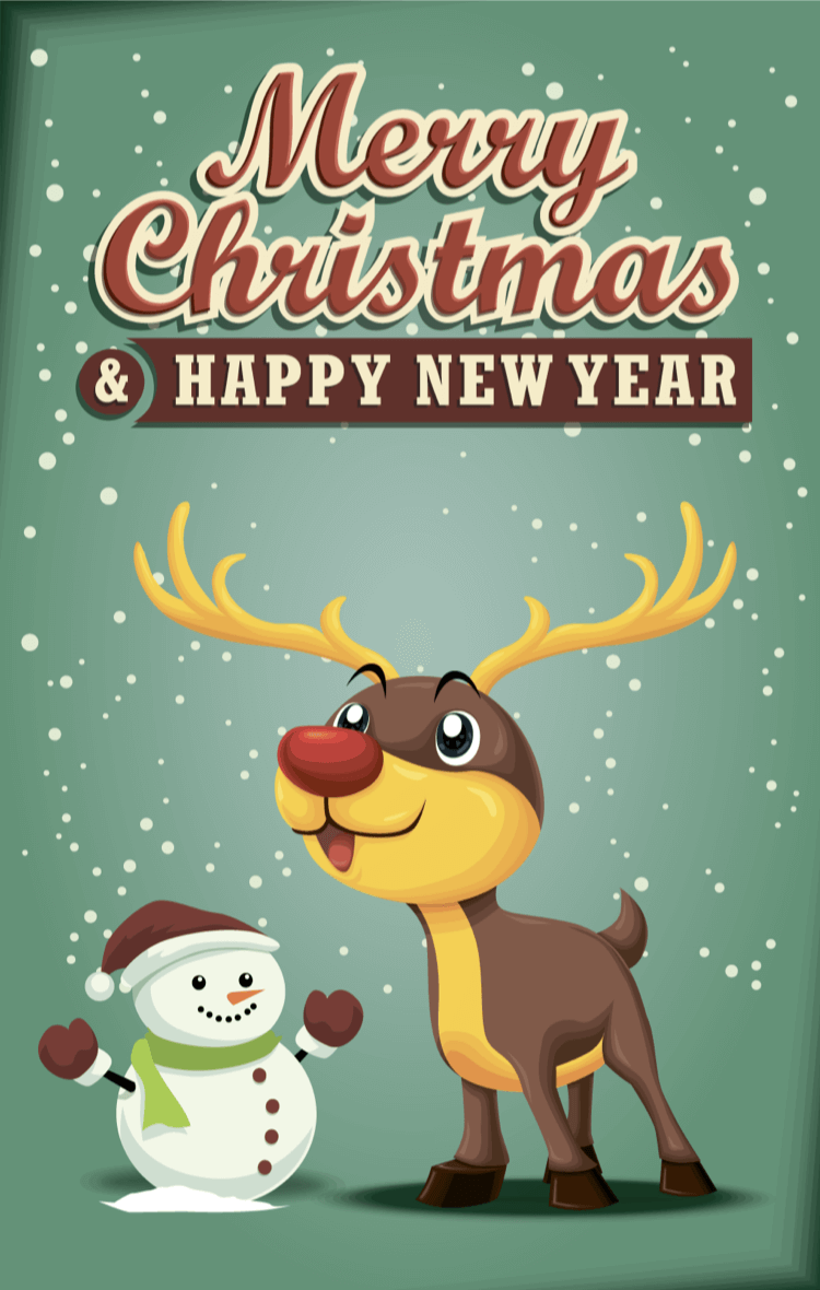 Christmas Cards for imessage! messages sticker-0