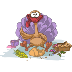 ThanksGiving Day Stickers! messages sticker-9
