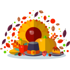 ThanksGiving Day Stickers! messages sticker-5
