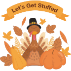 ThanksGiving Day Stickers! messages sticker-2