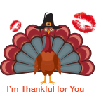 ThanksGiving Day Stickers! messages sticker-4