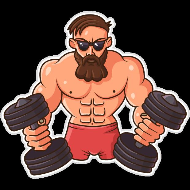 Fitum - gym tracker calendar messages sticker-4