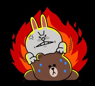 Bunny Crazy Sticker messages sticker-11