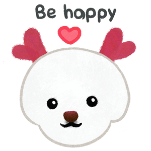 Christmas bichon Yallet messages sticker-9
