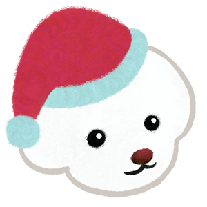 Christmas bichon Yallet messages sticker-11