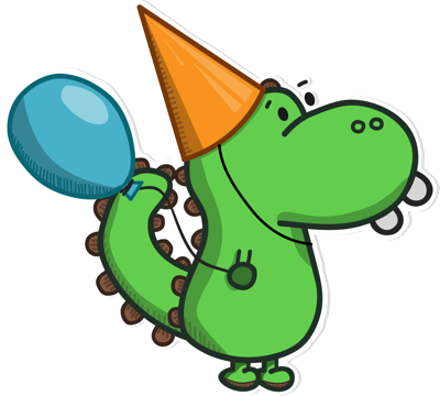 Life of Dino messages sticker-6