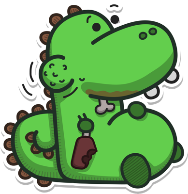 Life of Dino messages sticker-7