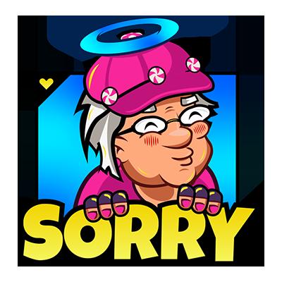 Senioren Zocken Emojis App messages sticker-1