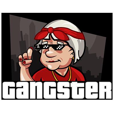 Senioren Zocken Emojis App messages sticker-5