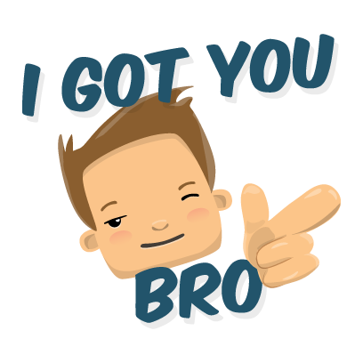 Bromoji Youthz messages sticker-3