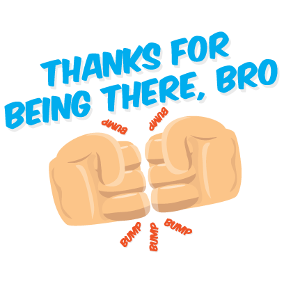 Bromoji Youthz messages sticker-2
