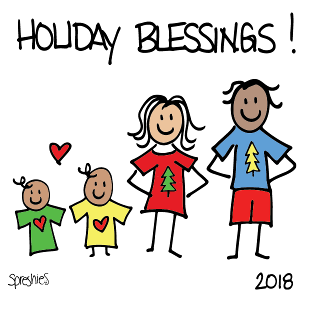Spreshies: Sample 2018 Holiday messages sticker-0