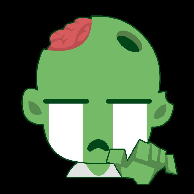 Zombie Survival Blast Match 3 messages sticker-2