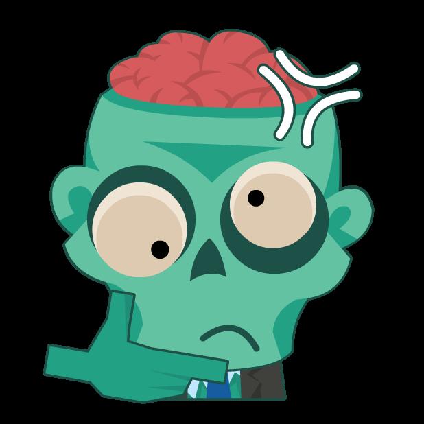Zombie Survival Blast Match 3 messages sticker-11