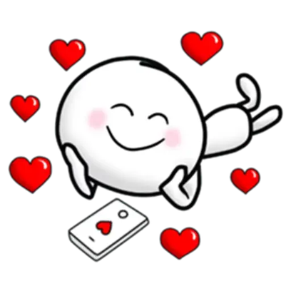 Animated Love Love Stickers messages sticker-11
