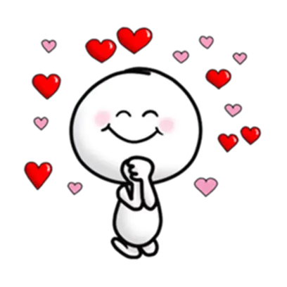Animated Love Love Stickers messages sticker-4