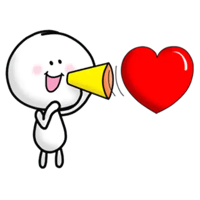 Animated Love Love Stickers messages sticker-10