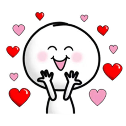 Animated Love Love Stickers messages sticker-5