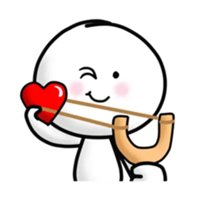 Animated Love Love Stickers messages sticker-6