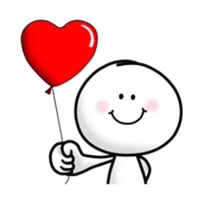 Animated Love Love Stickers messages sticker-9