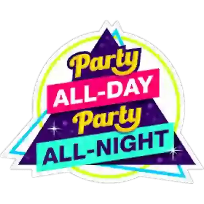 Party Text Stickers messages sticker-7
