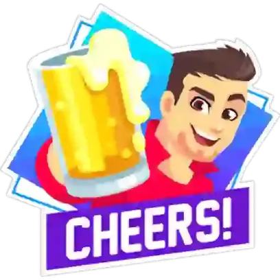 Party Text Stickers messages sticker-6