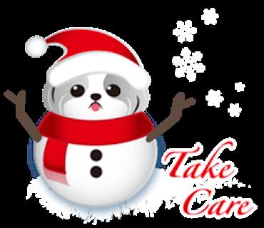 Merry Christmas Shih Tzu Dog messages sticker-8