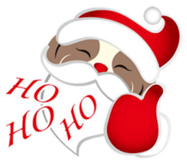 Merry Christmas Shih Tzu Dog messages sticker-9