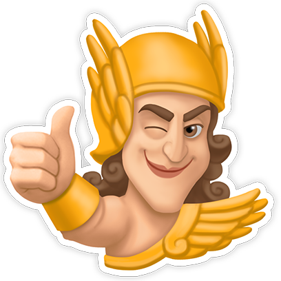 Legends of Olympus: Play, Farm messages sticker-3