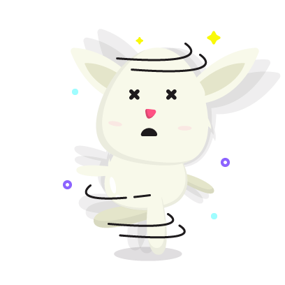 Fluffy - kawaii bunny stickers messages sticker-11